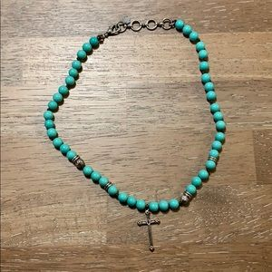 Lucky Brand cross necklace